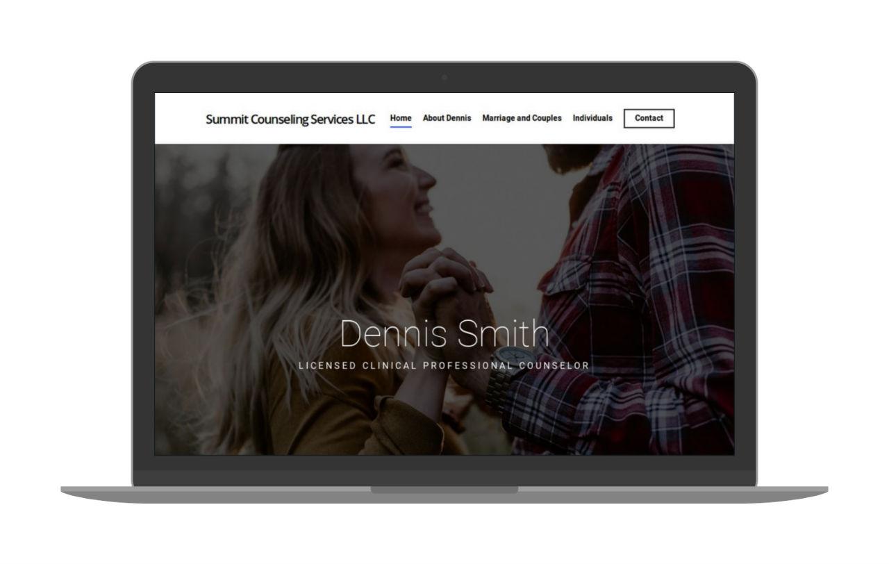 Swank Design Website and Graphic Design Dennis Smith-Macbook 1280