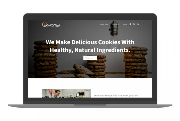 Swank Design Website and Graphic Design Yummylicious-Macbook 1280