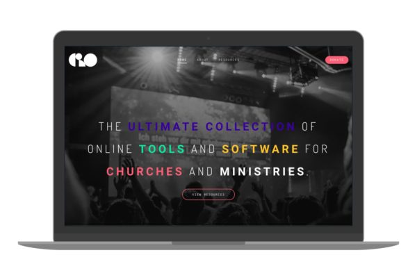 Swank Design Website and Graphic Design Church Resources Online Mockup