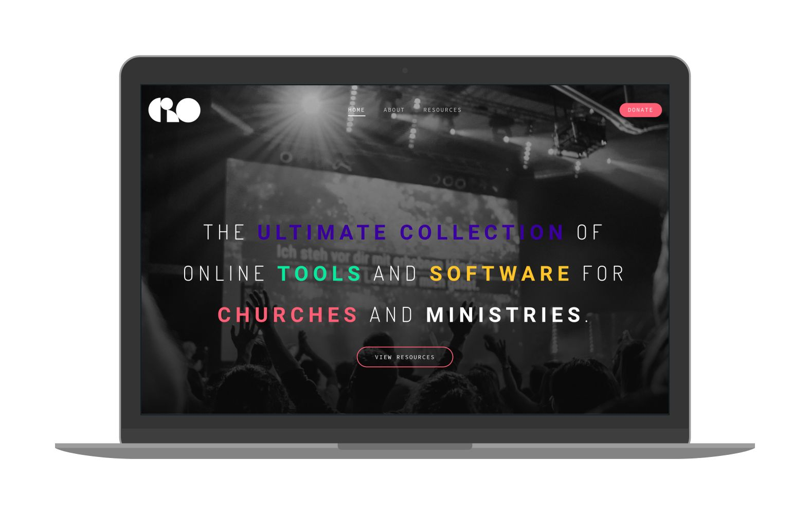 Swank Design Website and Graphic Design Church Resources Online Mockup