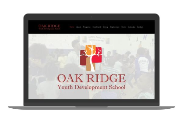 Swank Design Website and Graphic Design ORYD School-Macbook