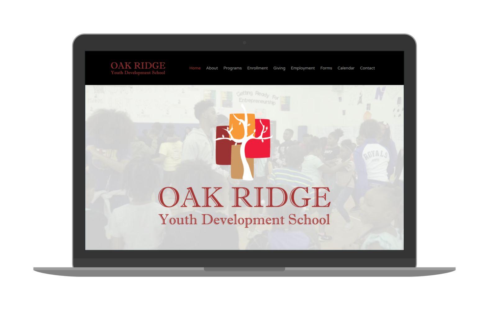Swank Design Website and Graphic Design ORYD School-Macbook